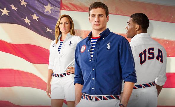 Униформите за закриването на Игрите, отново Лорън