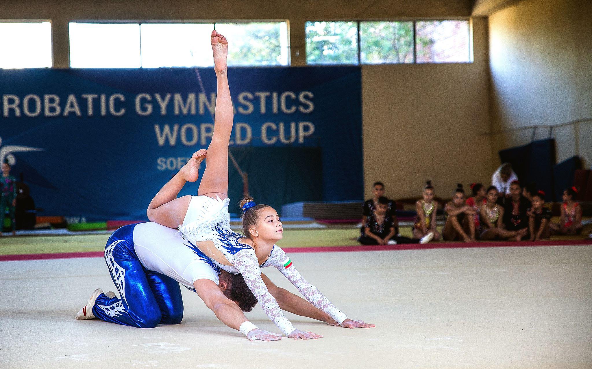 европейски шампиони и медалисти идват на световната купа по акробатика в София