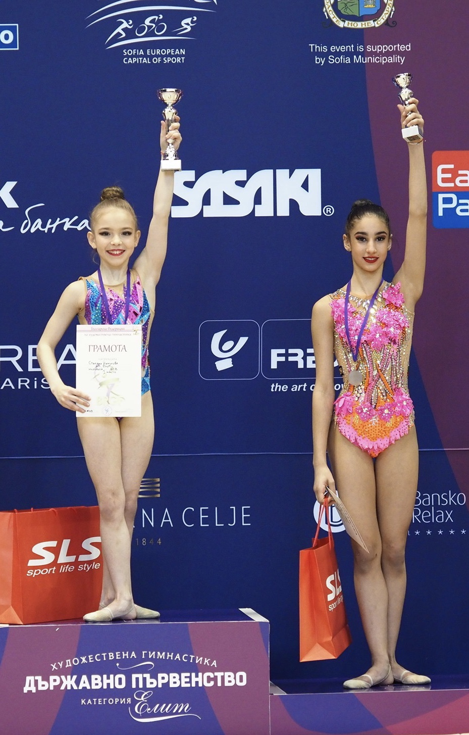 Отборно сребро за Стиляна Николова и Ева Брезалиева в Москва (ВИДЕО)