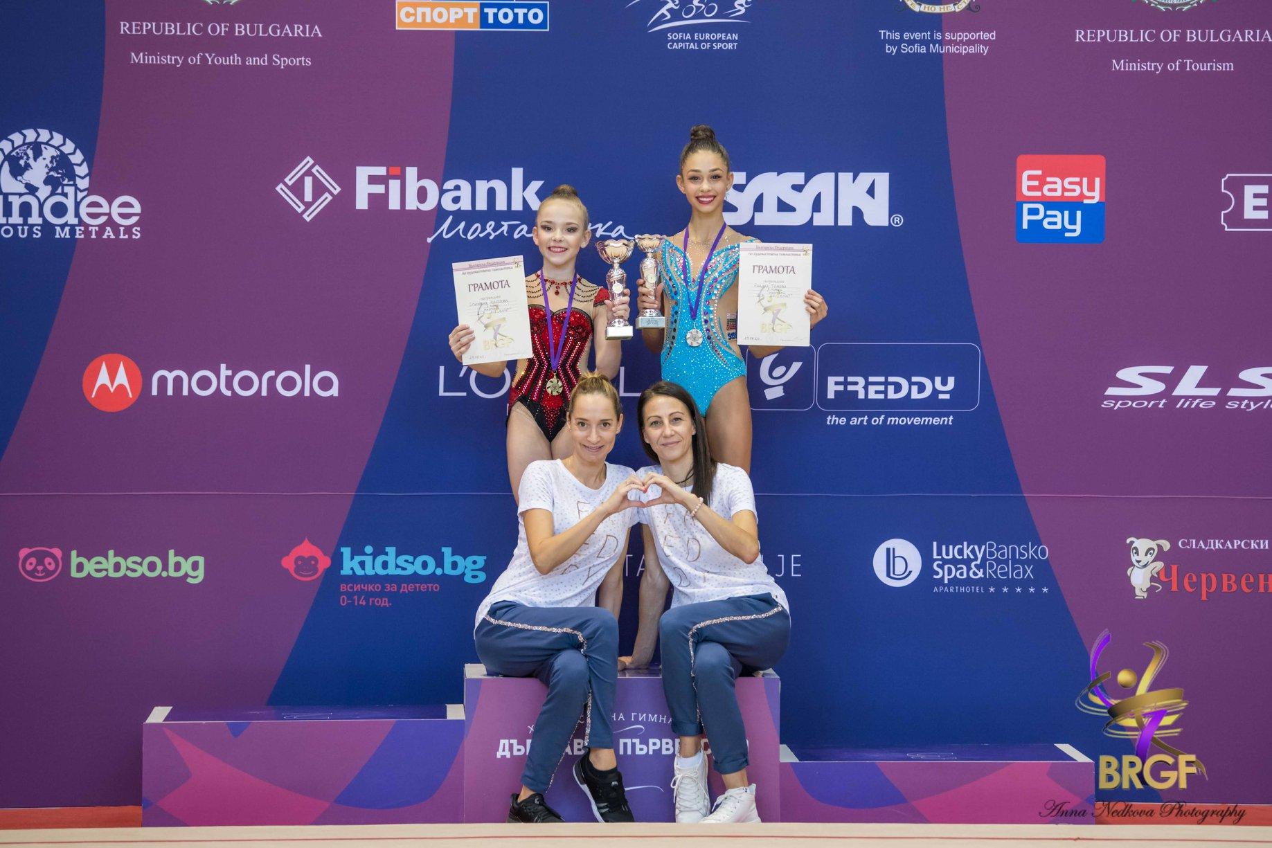 Три титли за Стиляна Николова от финалите, Ева Брезалиева първа на въже