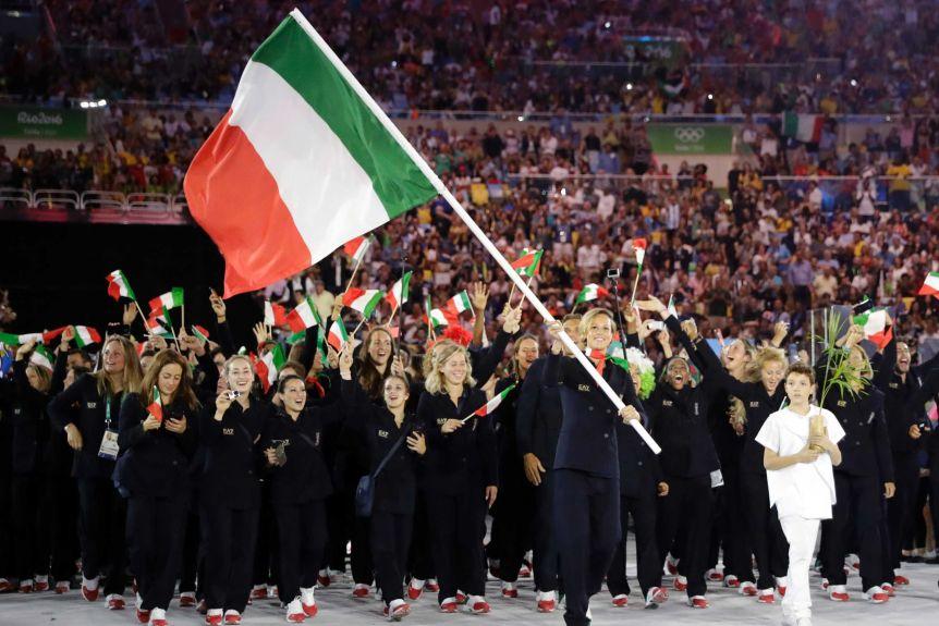 И Италия рискува да остане без знаме и химн на Олимпиадата