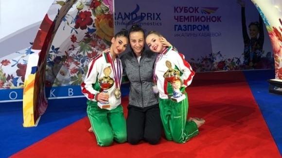 Пет бронзови медала за Ева Брезалиева и Стилияна Николова от Международния турнир в Москва