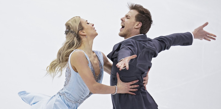 Русия близо до още една забравена титла, Синицина и Кацалапов спечелиха ритмичния танц