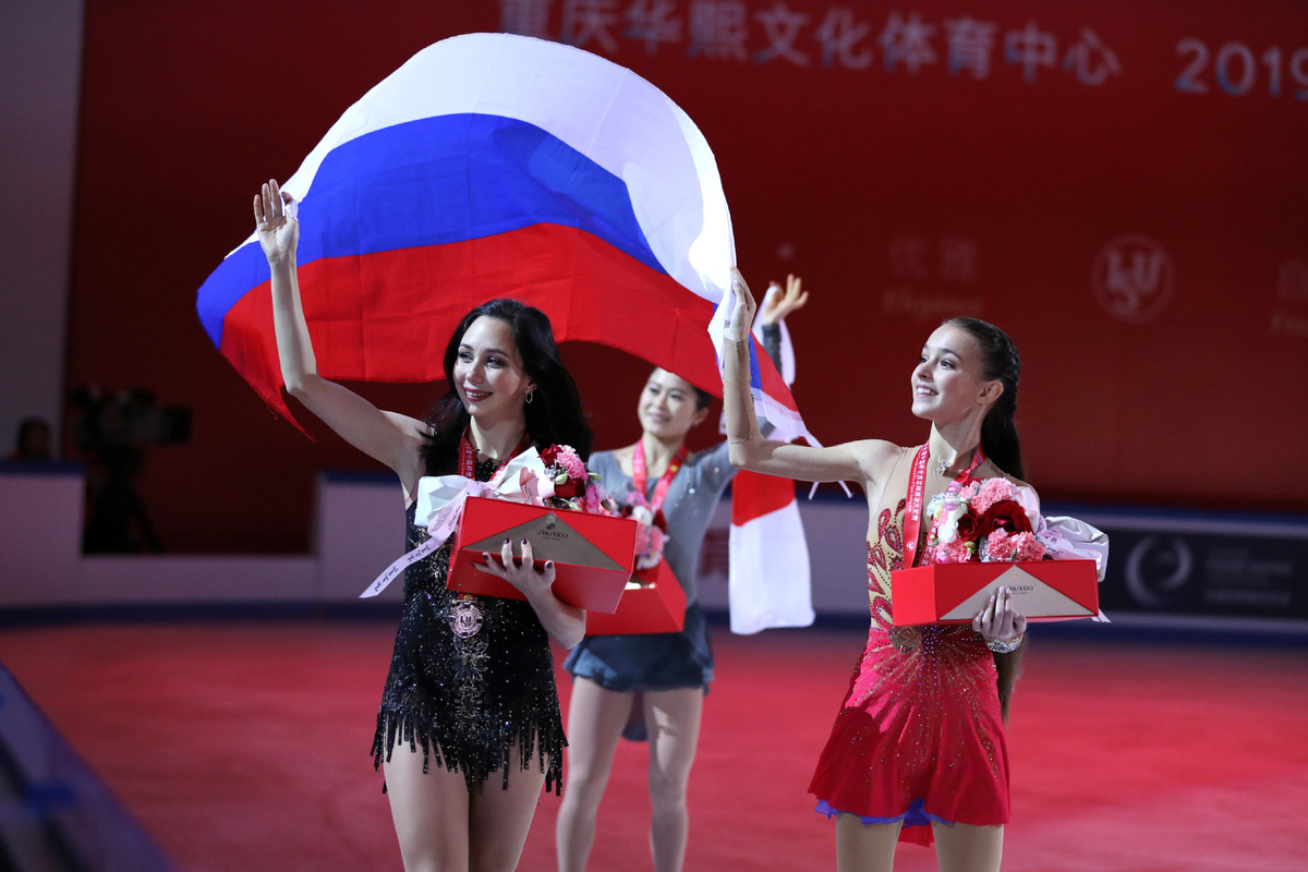 За първи път в историята: Русия с цял подиум при дамите на Световно