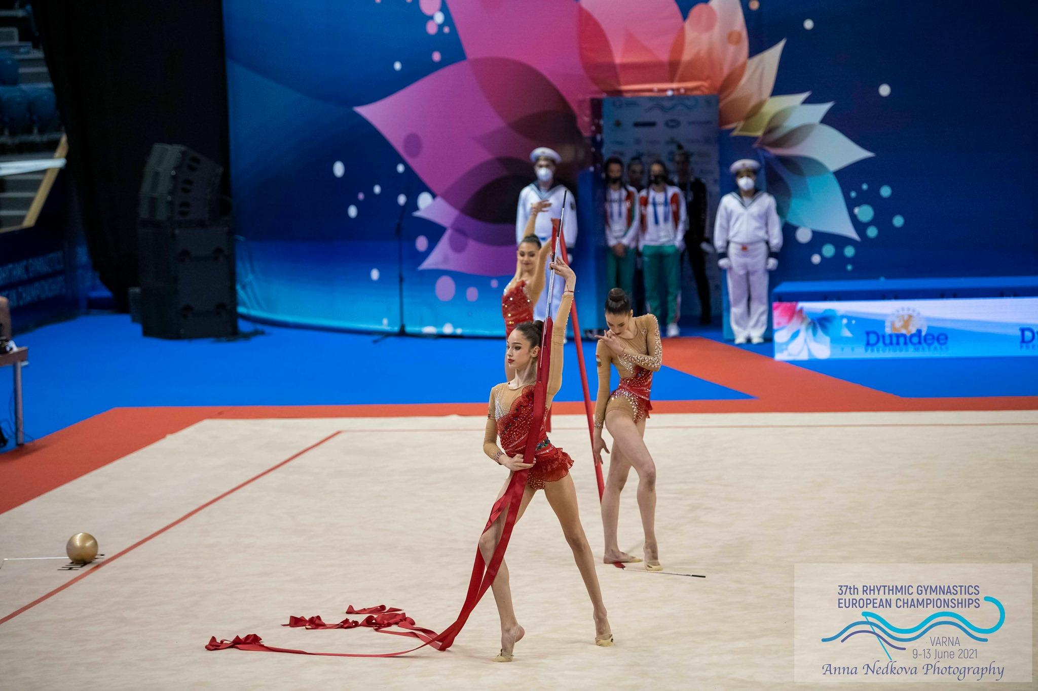 3 от 3 сребърни медала за малките грации във Варна