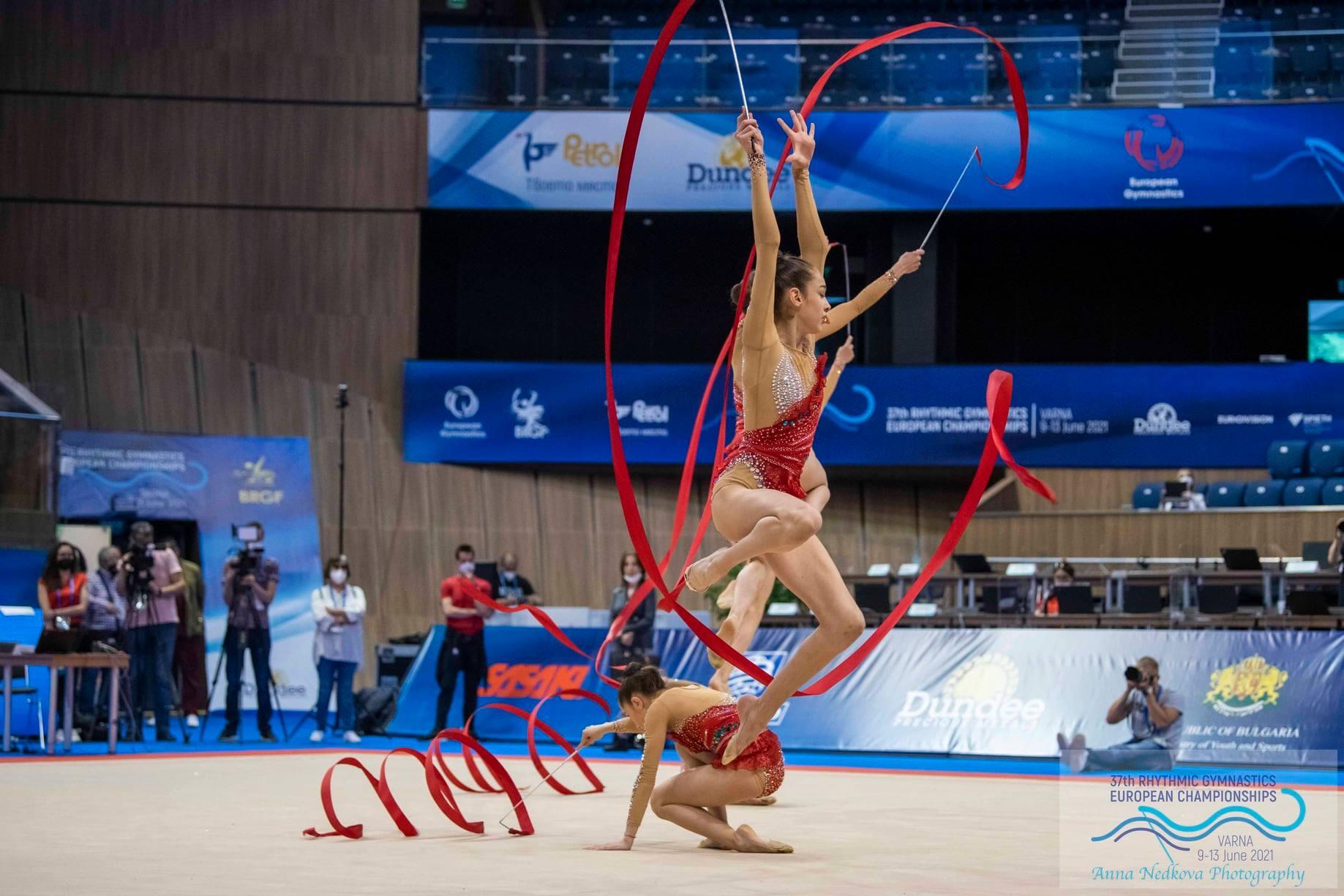Чудесен старт на Европейското във Варна, bългарският ансамбъл девойки е европейски вицешампион
